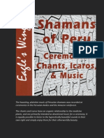 Shamans of Peru - Ceremonial Chants, Icaros, and Music CD