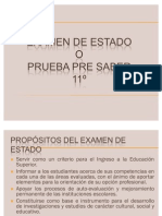 PRUEBAS ICFES 2012