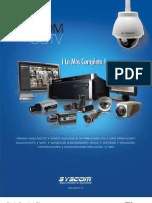 Catálogo 2012 EPCOM CCTV