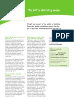 United Utilities pH of Water Phfactsheet