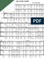 Handel, G.F. - Benedicat Vobis - Joy to the World