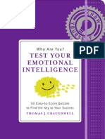 Excerpt from Who Are You? Test Your Emotional Intelligence