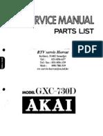 AKAI GX-C730D