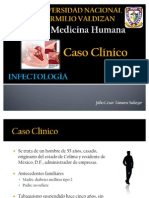Caso Clinico-Endocarditis Infecciosa