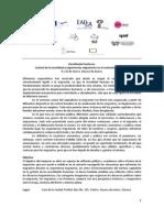 Programa del Simposio Desafiando Fronteras. Control de la movilidad y experiencias migratorias en el contexto capitalista