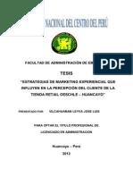 Marketing Experiencial-Jose Luis Vilcahuaman Leyva-Tesis- Oechsle -