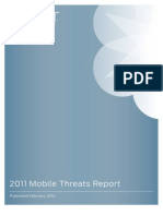 Juniper Networks 2011 Mobile Threats Report Final