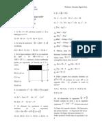 Algebra Seleccion Multiple