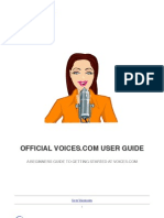 The Official Voices.com User Guide