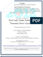 Obama fundraiser invitation
