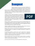 La Pagina de Banco Guatemala