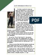 A Rotina de Abdominais de Bruce Lee