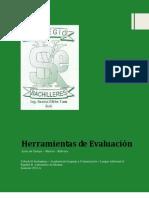 Herramientas de Evaluación Inglés II 2012A