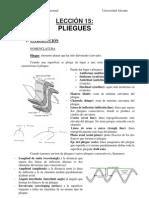 Analisis Geologico Estructual - Leccion 15 - Pliegues
