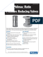 Ratio Pressure Reducing Valves