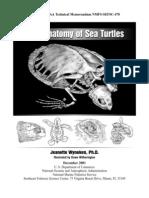 Libro de Anatomia de Las Tortugas en Ingles