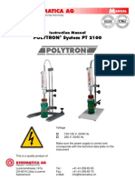 Polytron Homogenizer Manual