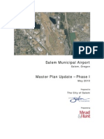 Salem Municipal Airport - Master Plan Update ­Phase I