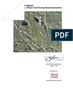 Salem Municipal Airport - Phase II and Runway Needs Assessment