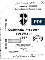 Command History 1967 Volume II