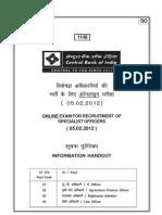 Information Handout