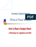 Budget Sheet Workshop Presentation