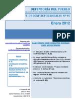 Reporte N°95 - Enero_2012