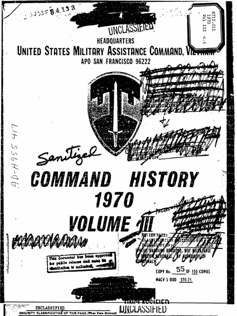 Command History 1970 Volume Iii Cambodia Viet Cong Photos Of Stun Gun Schematic 555