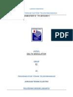 DM (Delta Modulation)