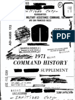 Command History 1971 Supplement