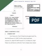 Gucci v. Guess, 09-04373 (SAS) (S.D.N.Y. 2-14-12)