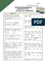 PRÁCTICA N° 015 - 1° - SISTEMA DE NUMERACIÓN V
