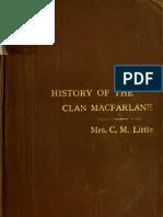 History of Clan Mac Far Lane