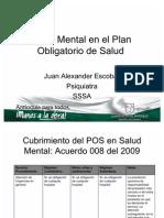 Salud Mental en El Plan Obligatorio de Salud