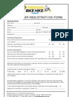 2012 Bike Hike Volunteer Registration Form