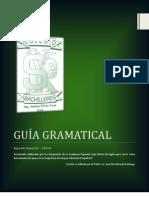 Guía Gramatical Lengua Adicional al Español II 2012-A