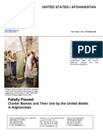 Human Rights Watch - Fatally Flawed - Cluster Bombs in Afghanistan (Dec 2002)