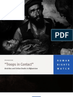 Human Rights Watch - Troops in Contact - Airstrikes and Civilian Deaths (Sept 2008)