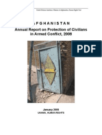 UNAMA Annual Report 2008 - Protection of Civilians in Armed Conflict