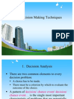 Decision Making Techniques Ppt @ Mba Opreatiop Mgmt