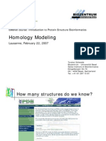3DHomology Modelling