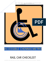 Rail Car Accessibility India
