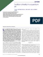 Hans-Benjamin Braun et al- Emergence of soliton chirality in a quantum antiferromagnet