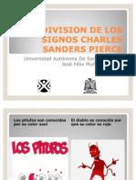 Division de Los Signos Charles Sanders Pierce