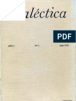 Dialéctica, nº 01, julio 1976
