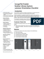 SL3000_Customer Orientation Checklist