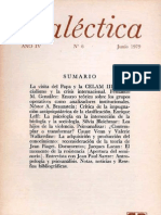 Dialéctica, nº 06, junio 1979