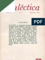 Dialéctica, nº 07, diciembre 1979