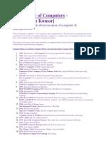All Intel Microprocessor List -shatrudhan kumar
