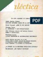 Dialéctica, nº 16, diciembre 1984